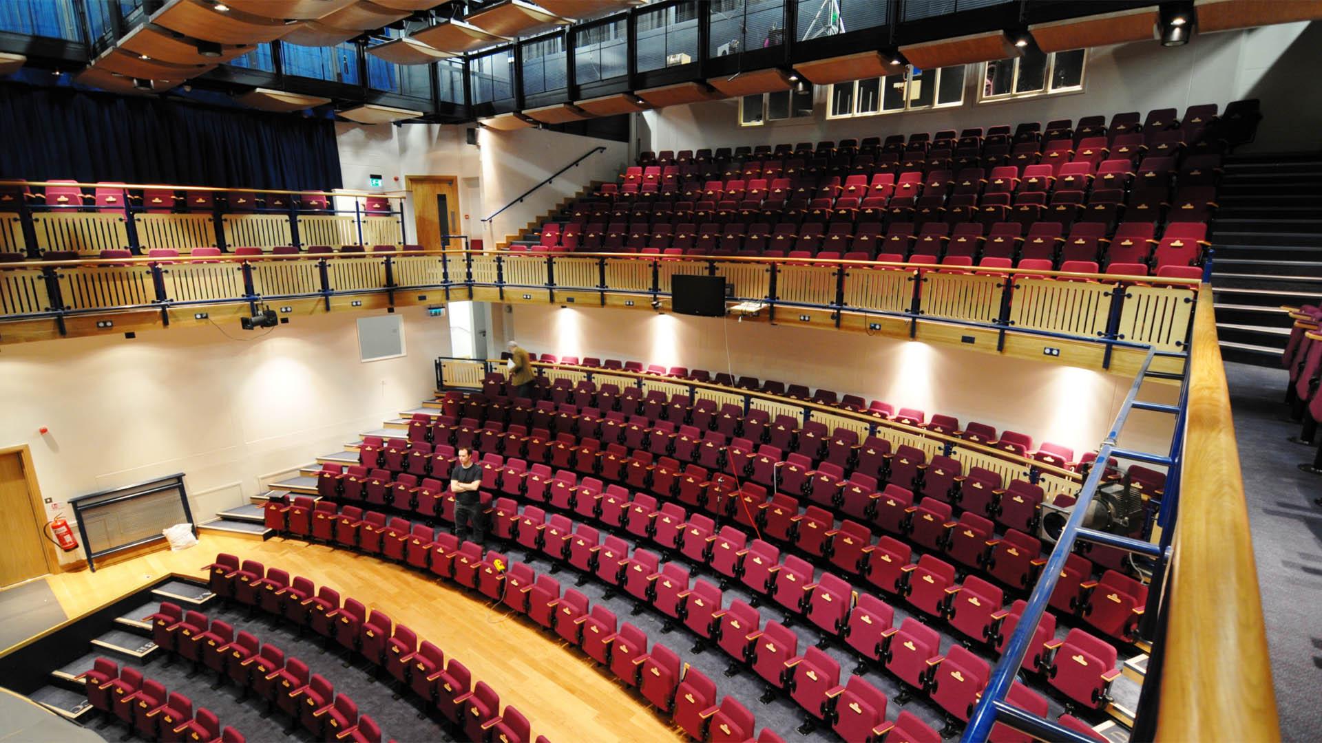 Hammond Theatre Hampton School Adrian James Acoustics